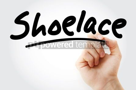 Business: Shoelace text with marker #01945