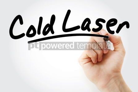 Business: Hand writing Cold laser with marker #01961