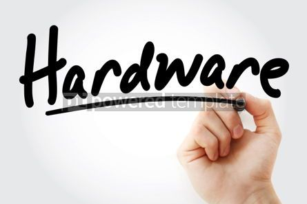 Business: Hand writing Hardware with marker #02063