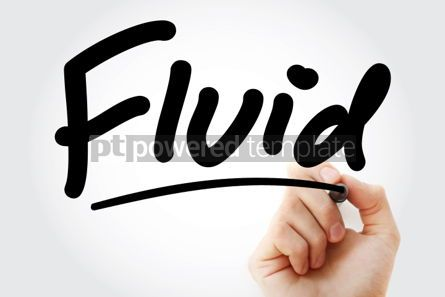 Business: Hand writing Fluid with marker #02155