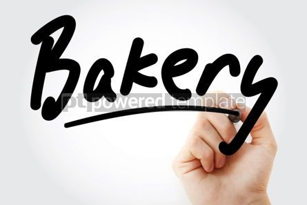 Business: Hand writing Bakery with marker #02161