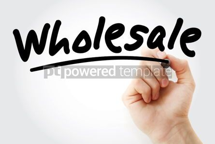 Business: Hand writing Wholesale with marker #02170