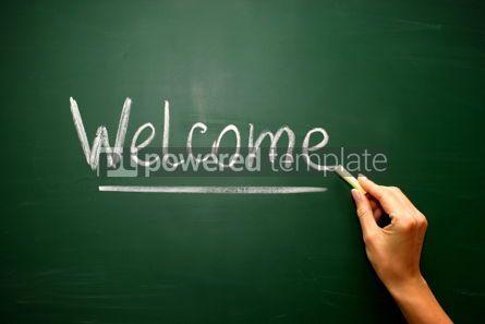 Business: Welcome handwritten in script #02592