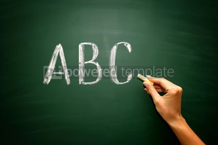 Business: abc letters #02595