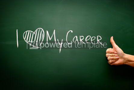 Business: I love my career #02597