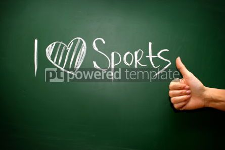 Business: I love sport phrase #02598