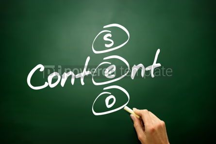 Business: Content SEO concept business strategy  #02801