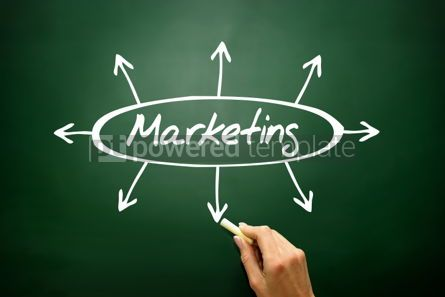 Business: Marketing directions concept business strategy  #02803