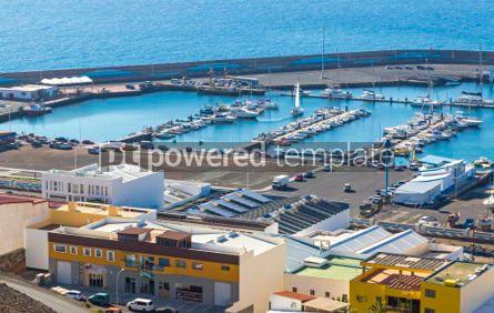 Nature: Port of Morro Jable on the south coast of Fuerteventura island  #02826