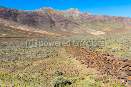 Nature: Hiking on Jandia Peninsula Fuerteventura Canary Islands Spain #02830