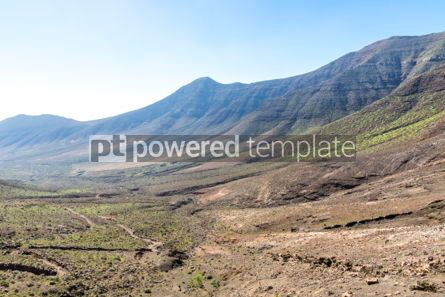 Nature: Hiking on Jandia Peninsula Fuerteventura Canary Islands Spain #02833