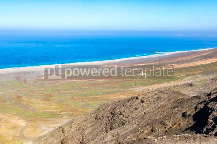 Nature: Hiking on Jandia Peninsula Fuerteventura Canary Islands Spain #02834