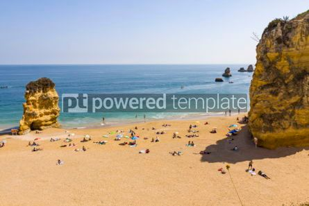 Nature: Praia da Dona Ana beach in Lagos Algarve region Portugal #02838