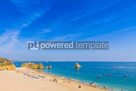 Nature: Praia da Dona Ana beach in Lagos Algarve region Portugal #02839