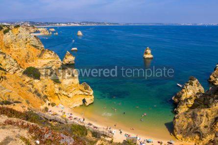 Nature: Praia do Camilo beach in Lagos Algarve region Portugal #02841
