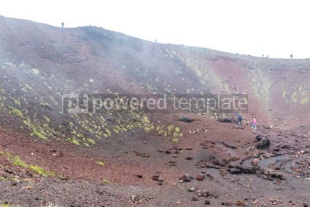 Nature: Crater Silvestri Inferiori (1886m) on Mount Etna Sicily Italy #02844