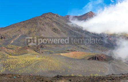 Nature: Hiking on Mount Etna Etna national park Sicily Italy #02848
