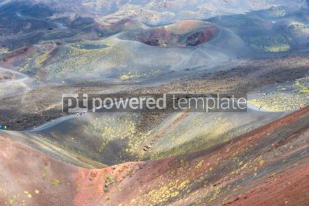 Nature: Crater Silvestri Superiori on Mount Etna Sicily Italy #02851