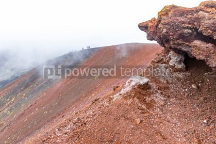 Nature: Picturesque volcanic landscape of Mount Etna Sicily Italy #02853