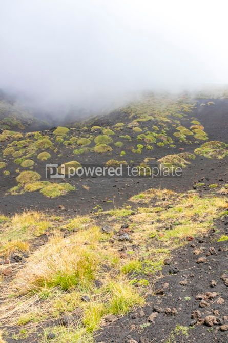 Nature: Picturesque volcanic landscape of Mount Etna Sicily Italy #02858
