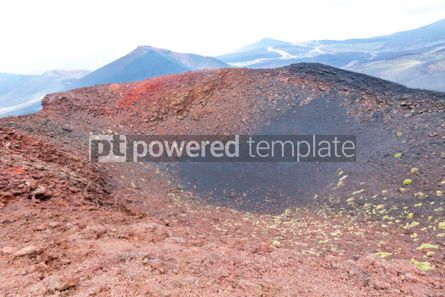 Nature: Picturesque volcanic landscape of Mount Etna Sicily Italy #02861