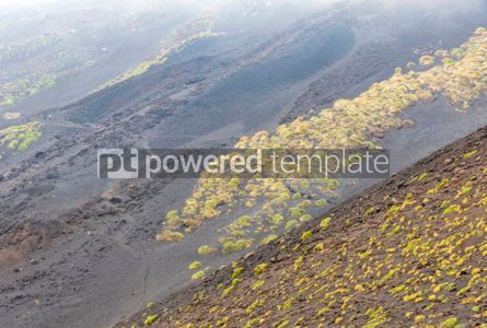 Nature: Picturesque volcanic landscape of Mount Etna Sicily Italy #02863