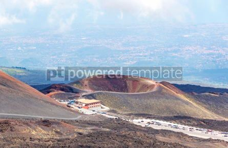 Nature: Crater Silvestri Inferiori (1886m) on Mount Etna Sicily Italy #02865