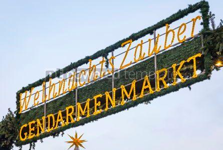 Holidays: Gendarmenmarkt Christmas Market in Berlin Germany #02872