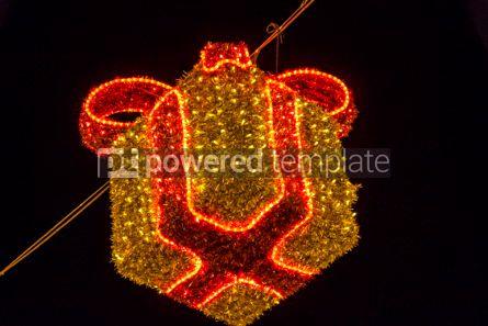 Holidays: Illuminated Christmas holiday decorations #02881