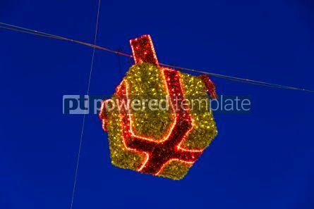 Holidays: Illuminated Christmas holiday decorations #02883