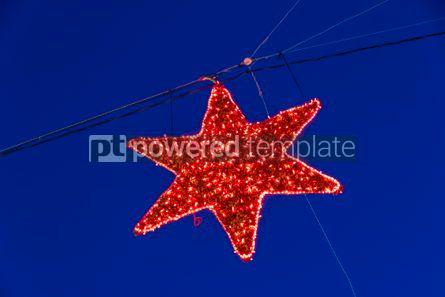 Holidays: Illuminated Christmas holiday decorations #02884