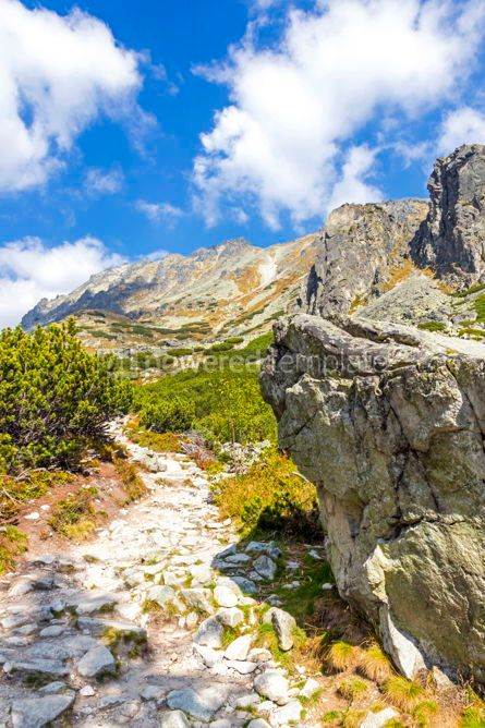 Nature: Hiking in High Tatras Mountains (Vysoke Tatry) Slovakia #02907