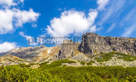 Nature: Hiking in High Tatras Mountains (Vysoke Tatry) Slovakia #02908