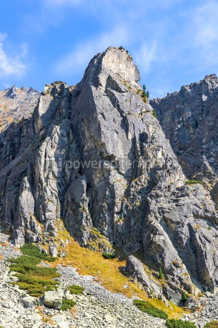 Nature: Hiking in High Tatras Mountains (Vysoke Tatry) Slovakia #02910