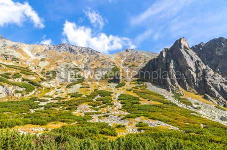 Nature: Hiking in High Tatras Mountains (Vysoke Tatry) Slovakia #02911