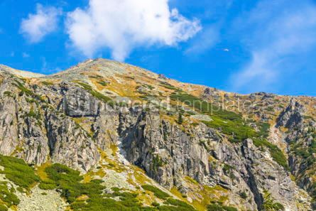 Nature: Hiking in High Tatras Mountains (Vysoke Tatry) Slovakia #02913