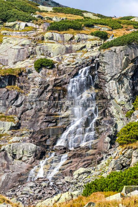 Nature: Skok waterfall in High Tatras Mountains (Vysoke Tatry) Slovakia #02915