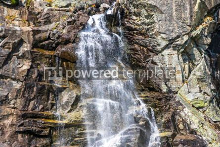 Nature: Skok waterfall in High Tatras Mountains (Vysoke Tatry) Slovakia #02918