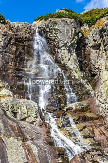 Nature: Skok waterfall in High Tatras Mountains (Vysoke Tatry) Slovakia #02919