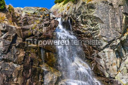 Nature: Skok waterfall in High Tatras Mountains (Vysoke Tatry) Slovakia #02921