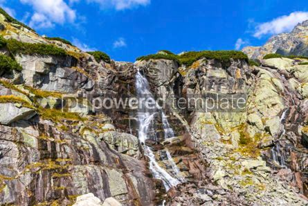 Nature: Skok waterfall in High Tatras Mountains (Vysoke Tatry) Slovakia #02922