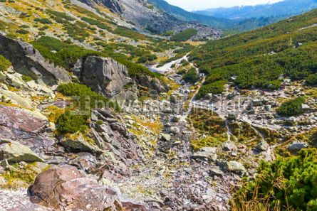 Nature: Hiking in High Tatras Mountains (Vysoke Tatry) Slovakia #02924