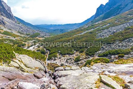 Nature: Hiking in High Tatras Mountains (Vysoke Tatry) Slovakia #02925