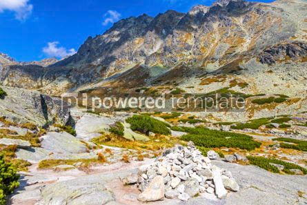 Nature: Hiking in High Tatras Mountains (Vysoke Tatry) Slovakia #02926