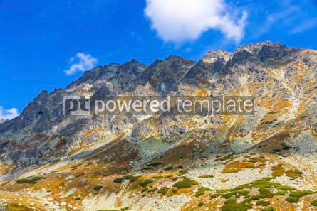 Nature: Hiking in High Tatras Mountains (Vysoke Tatry) Slovakia #02927