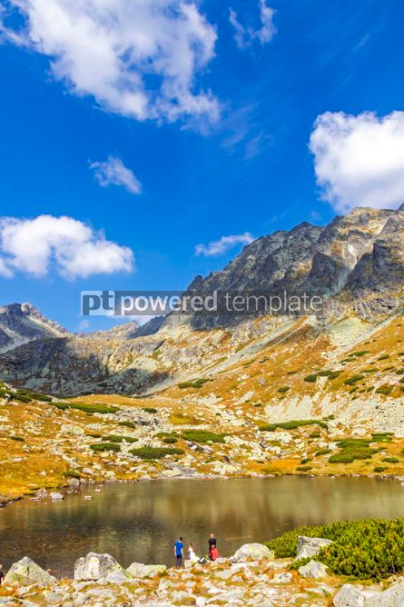 Nature: Hiking in High Tatras Mountains (Vysoke Tatry) Slovakia #02928