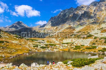 Nature: Hiking in High Tatras Mountains (Vysoke Tatry) Slovakia #02929