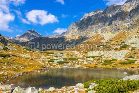 Nature: Hiking in High Tatras Mountains (Vysoke Tatry) Slovakia #02930