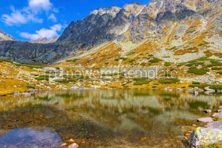 Nature: Hiking in High Tatras Mountains (Vysoke Tatry) Slovakia #02932