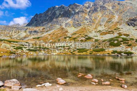 Nature: Hiking in High Tatras Mountains (Vysoke Tatry) Slovakia #02933